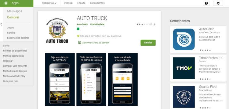 App Auto Truck